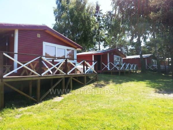Domy letniskowe z tarasami w Sventoji, nad rzeką - 1