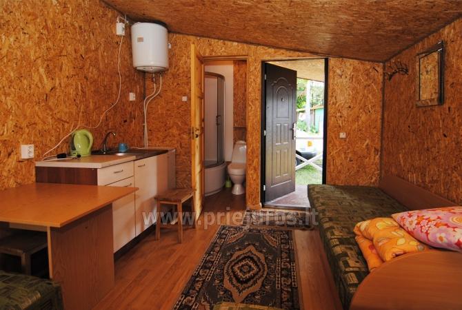Domy letniskowe z tarasami w Sventoji, nad rzeką - 5