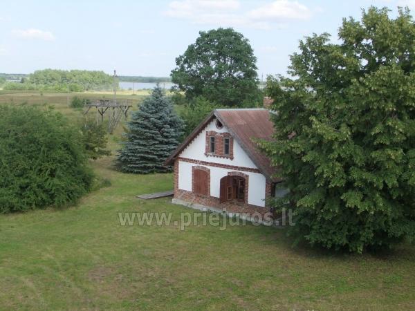 Dom do wynajecia w poblizu Zalewu Kuronskiego miedzy Vente i Kintai - 2