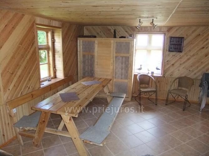 Dom do wynajecia w poblizu Zalewu Kuronskiego miedzy Vente i Kintai - 8