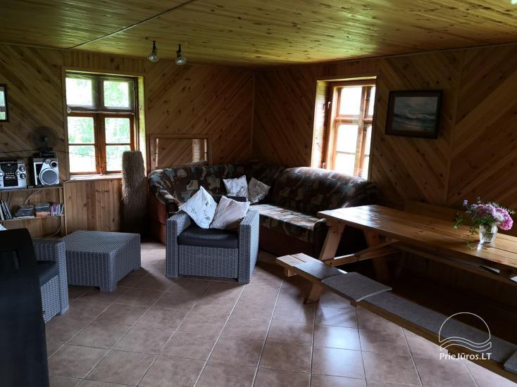 Dom do wynajecia w poblizu Zalewu Kuronskiego miedzy Vente i Kintai - 5
