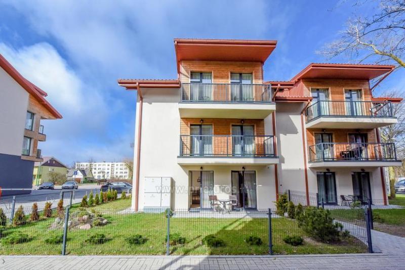 Nowy dwupokojowy apartament Malūno Vilos
