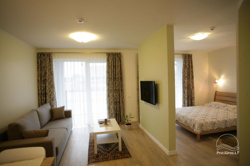 Apartamenty 365 INN w kompleksie Maluno Vilos, w centrum Połągi - 3