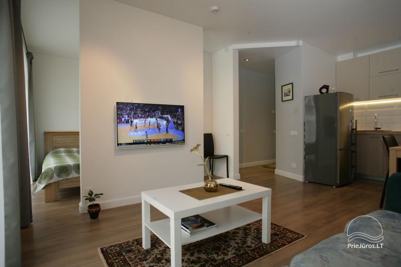 Apartamenty 365 INN w kompleksie Maluno Vilos, w centrum Połągi - 9