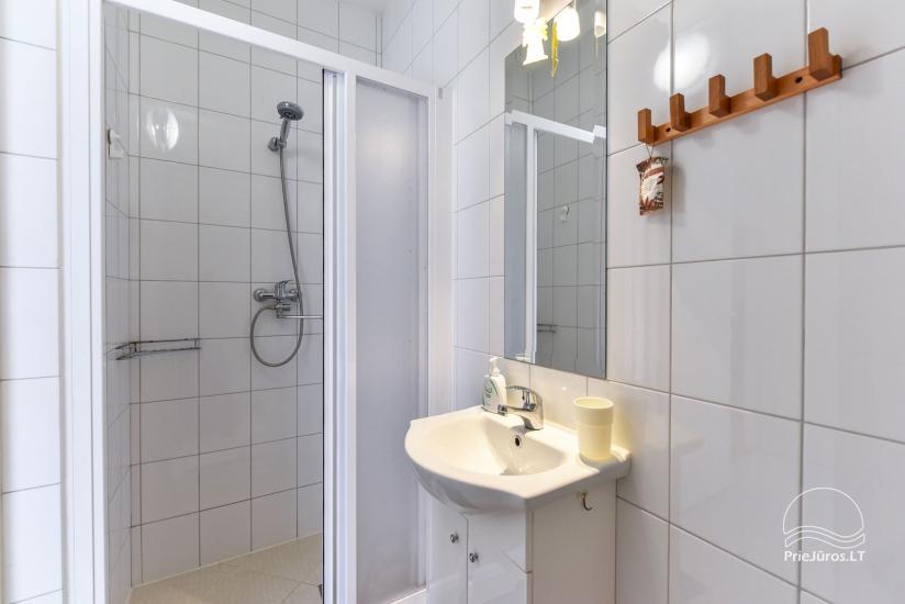 Bathroom on the first floor