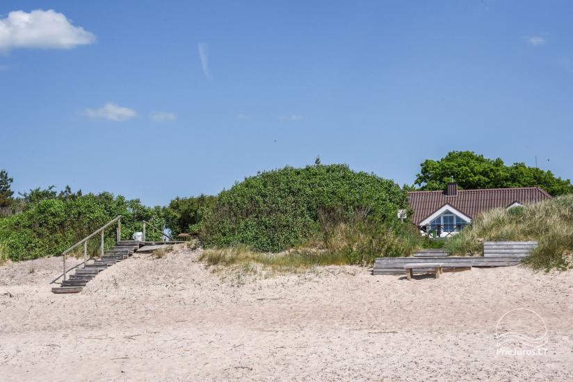 Domki i pokoje do wynajęcia w Sventoji ze względu na morzu Kopa-Jūra - 2