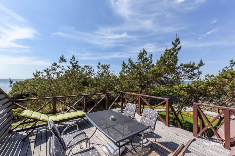 Domki i pokoje do wynajęcia w Sventoji ze względu na morzu Kopa-Jūra - 10