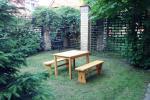 Mieszkanie jednopokojowe z patio w Pervalka