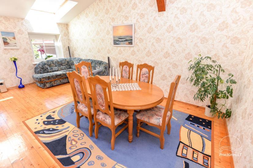 100 m² apartament do wynajęcia w centrum Nidy - 1