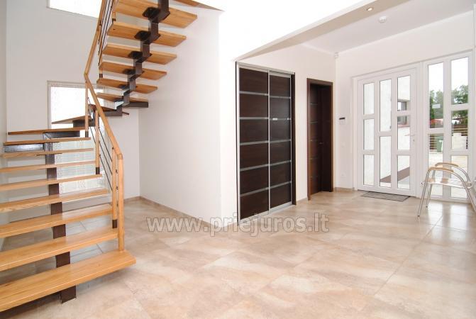Dom do wynajecia w Sventoji (Palanga): 4 sypialnie, szeroki salon z kuchnia, 3 lazienki - 4