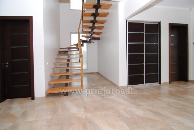 Dom do wynajecia w Sventoji (Palanga): 4 sypialnie, szeroki salon z kuchnia, 3 lazienki - 5