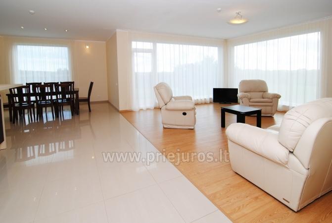 Dom do wynajecia w Sventoji (Palanga): 4 sypialnie, szeroki salon z kuchnia, 3 lazienki - 6
