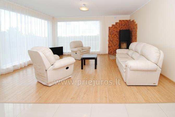 Dom do wynajecia w Sventoji (Palanga): 4 sypialnie, szeroki salon z kuchnia, 3 lazienki - 8