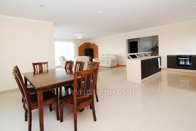 Dom do wynajecia w Sventoji (Palanga): 4 sypialnie, szeroki salon z kuchnia, 3 lazienki - 9