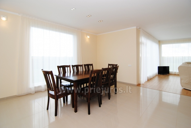 Dom do wynajecia w Sventoji (Palanga): 4 sypialnie, szeroki salon z kuchnia, 3 lazienki - 10