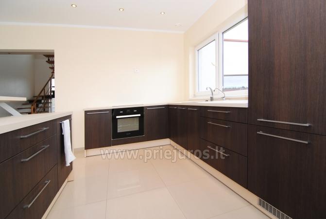Dom do wynajecia w Sventoji (Palanga): 4 sypialnie, szeroki salon z kuchnia, 3 lazienki - 11