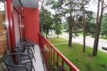 Dwa pokoje apartamenty z balkonem w Palanga, 700m od morza