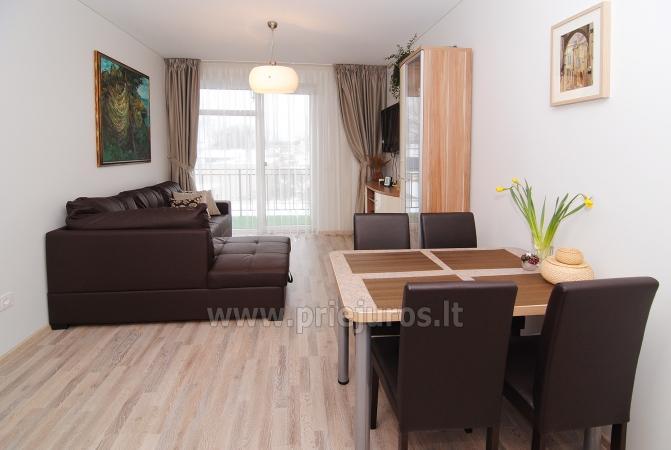 Dwupokojowe mieszkanie w Połądze. Nowo wyposażone mieszkanie, duży balkon - 5