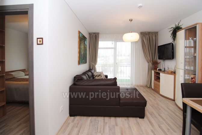 Dwupokojowe mieszkanie w Połądze. Nowo wyposażone mieszkanie, duży balkon - 7