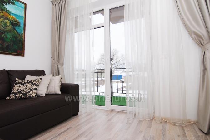 Dwupokojowe mieszkanie w Połądze. Nowo wyposażone mieszkanie, duży balkon - 10