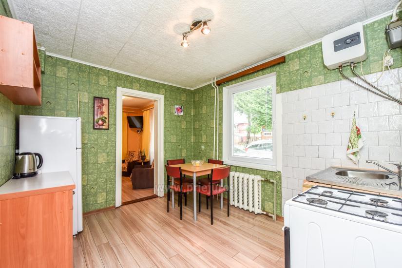 2-pokojowe mieszkanie do wynajęcia z prywatnym dziedzińcem w Połądze - 3