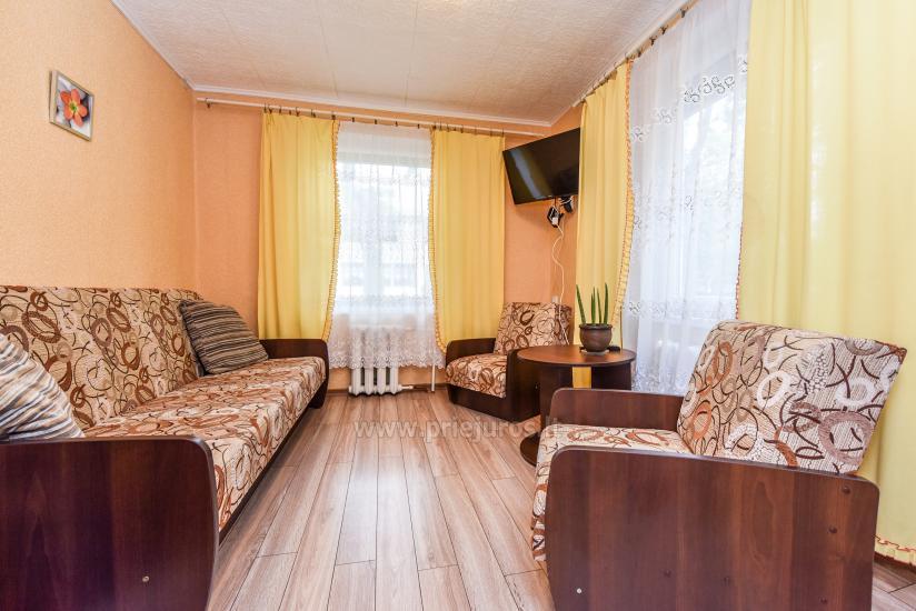 2-pokojowe mieszkanie do wynajęcia z prywatnym dziedzińcem w Połądze - 4