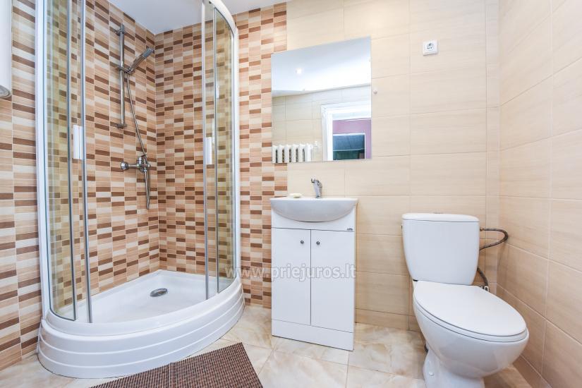 2-pokojowe mieszkanie do wynajęcia z prywatnym dziedzińcem w Połądze - 7