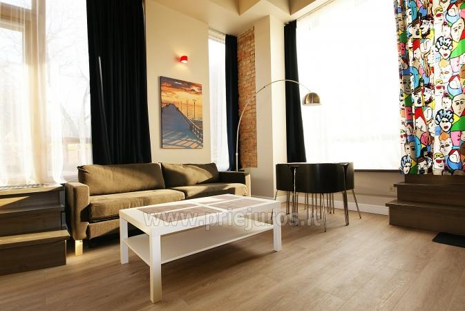 Apartamenty-lofty w Połądze. Pierwsze piętro, oddzielne wejścia z podwórza - 3