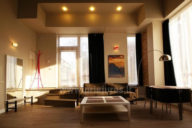 Apartamenty-lofty w Połądze. Pierwsze piętro, oddzielne wejścia z podwórza - 2