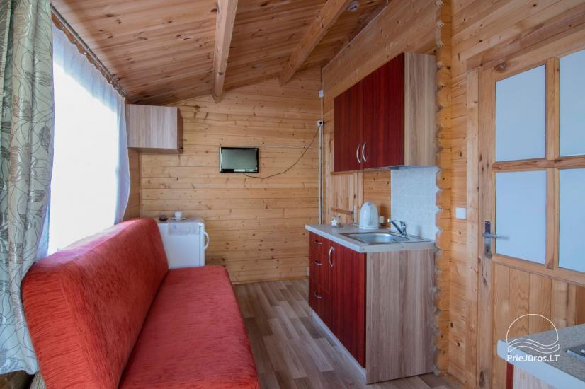 Domki letniskowe i apartamenty do wynajęcia w pobliżu morza w Sventoji - 3