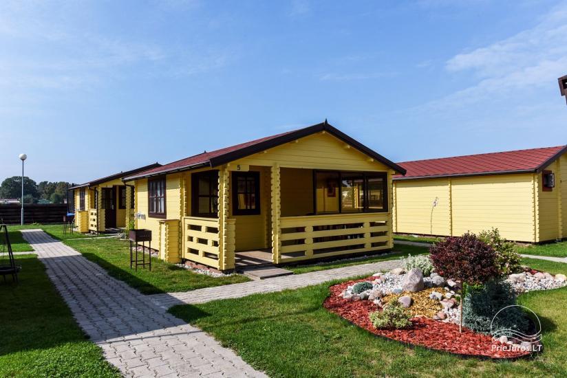 Domki letniskowe i apartamenty do wynajęcia w pobliżu morza w Sventoji - 1