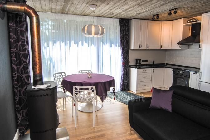 Mały dom do wynajęcia w Kunigiskes. Zaledwie 250 metrów do morza! - 1