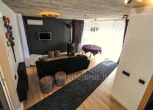 Mały dom do wynajęcia w Kunigiskes. Zaledwie 250 metrów do morza! - 3