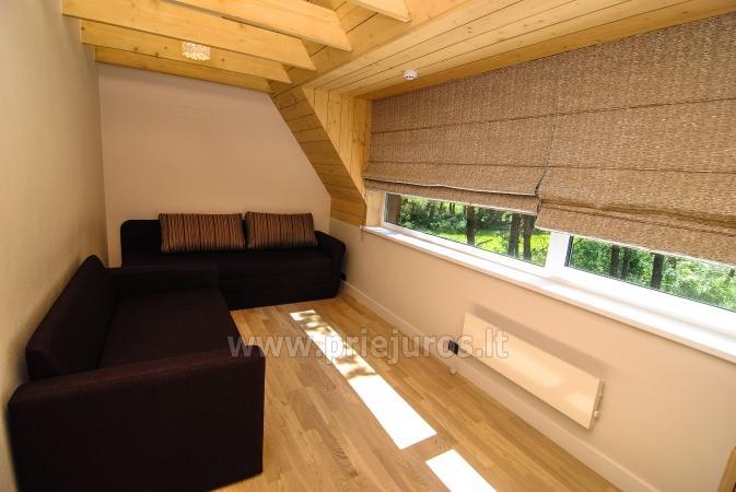Mały dom do wynajęcia w Kunigiskes. Zaledwie 250 metrów do morza! - 7