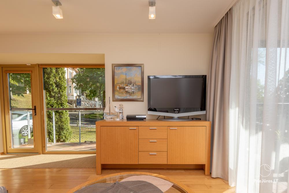 Nowoczesne dwa pokoje mieszkanie z dużym tarasem w Mierzei Kurońskiej, Juodkrante - 11