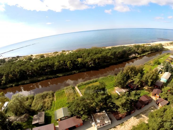 Nowe domki Elnias bardzo blisko morza w Sventoji