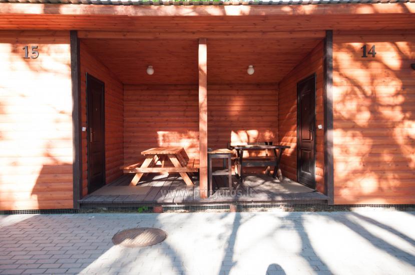 Nowe domki Elnias bardzo blisko morza w Sventoji - 44