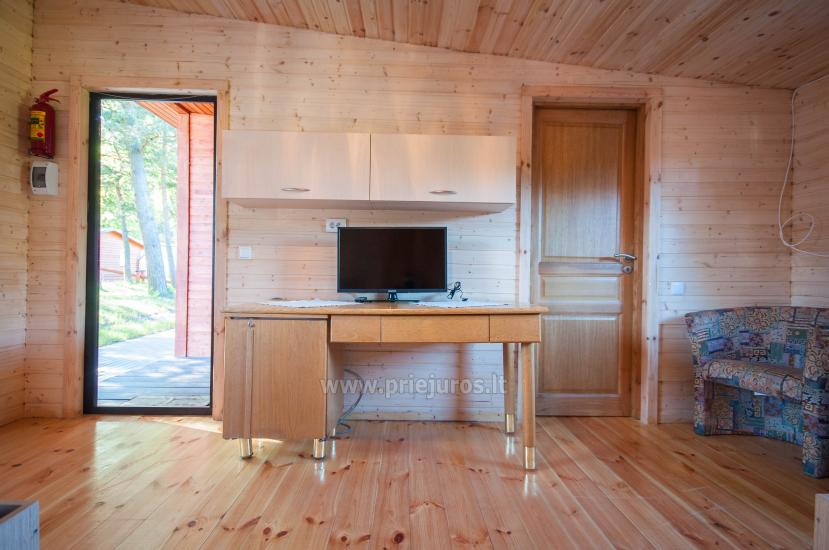 Nowe domki Elnias bardzo blisko morza w Sventoji - 49