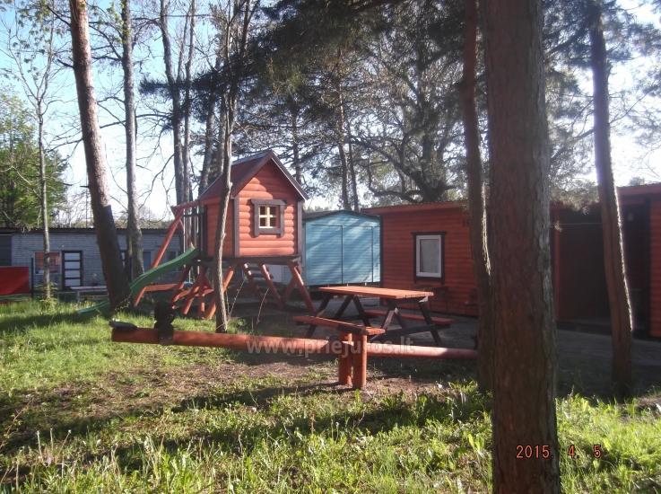 Nowe domki Elnias bardzo blisko morza w Sventoji - 14