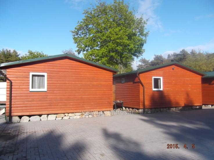 Nowe domki Elnias bardzo blisko morza w Sventoji - 11