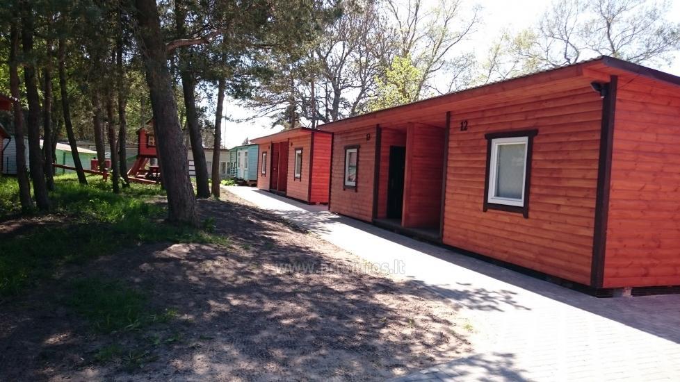Nowe domki Elnias bardzo blisko morza w Sventoji - 12