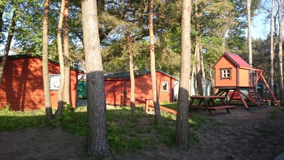 Nowe domki Elnias bardzo blisko morza w Sventoji - 13