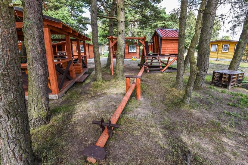 Nowe domki Elnias bardzo blisko morza w Sventoji - 8