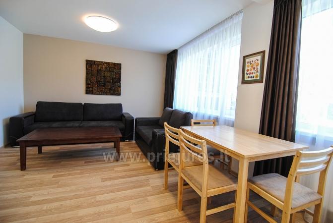 """Apartamenty """"Janonio"""" w centrum Połągi. 2 pokoje, pierwsze piętro, balkon - 3"""