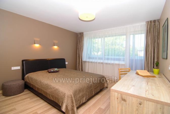 """Apartamenty """"Janonio"""" w centrum Połągi. 2 pokoje, pierwsze piętro, balkon - 5"""