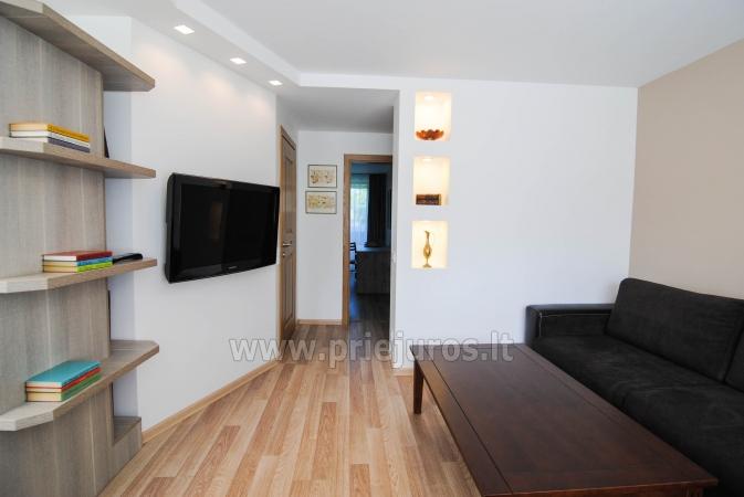 """Apartamenty """"Janonio"""" w centrum Połągi. 2 pokoje, pierwsze piętro, balkon - 1"""