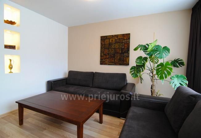 """Apartamenty """"Janonio"""" w centrum Połągi. 2 pokoje, pierwsze piętro, balkon - 2"""