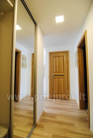 """Apartamenty """"Janonio"""" w centrum Połągi. 2 pokoje, pierwsze piętro, balkon - 10"""