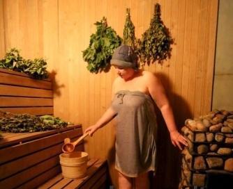 Sauna z łaźni asystenta w Kłajpedzie