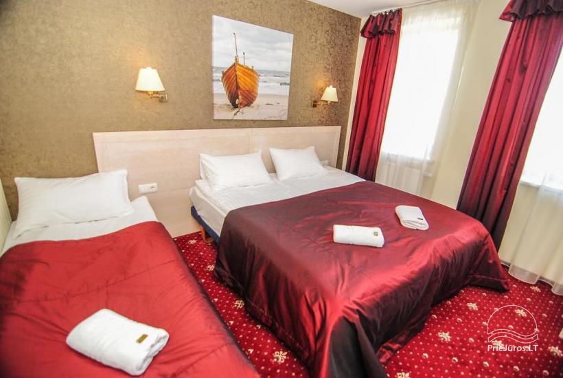 Hotel w Klajpedzie Pajurio vieskelis - 11